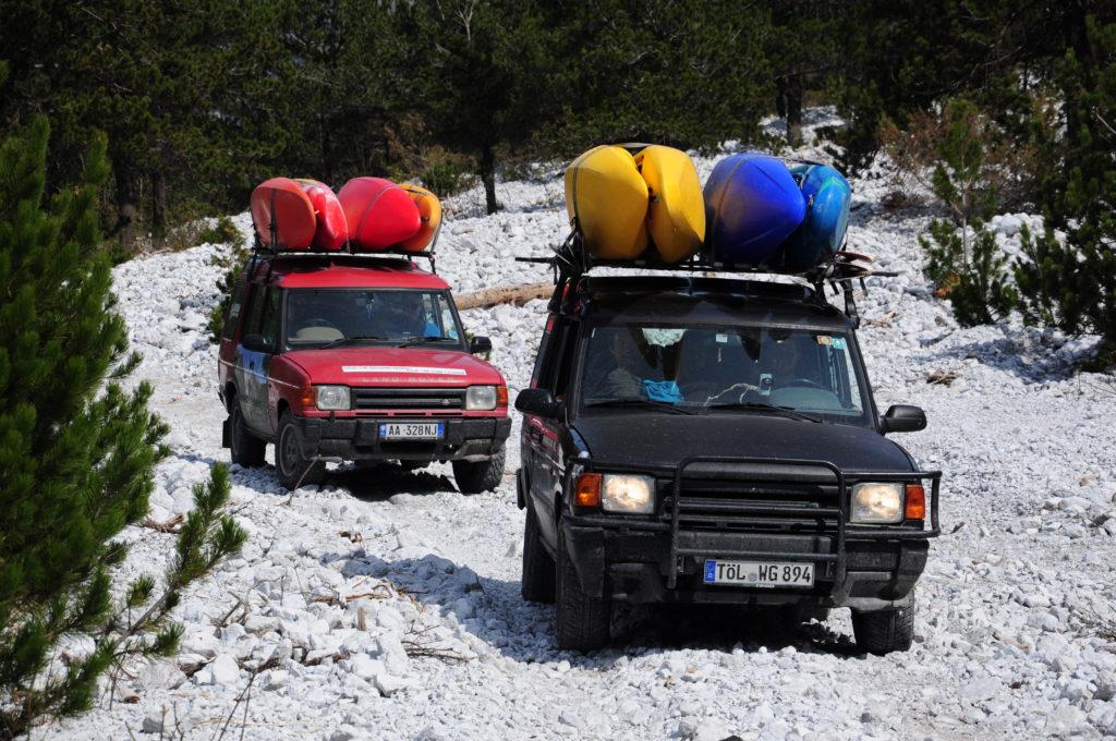 Auf dem Weg zur Shala, Nordalbanien.